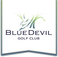 Blue Devil Golf Club Logo